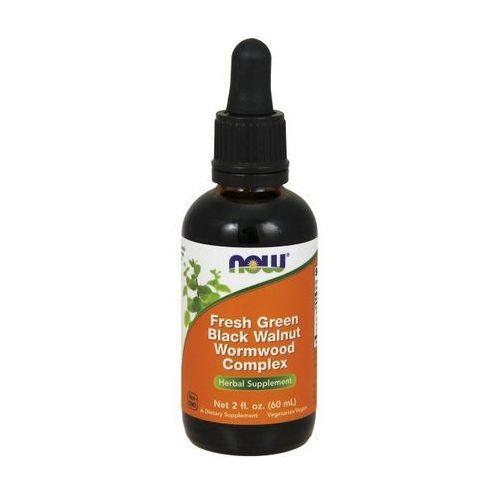 Now Foods Black Walnut - Ekstrakt z czarnego orzecha (Czarny orzech) 60ml (lek pozostałe leki chorób układu pokarmowego)