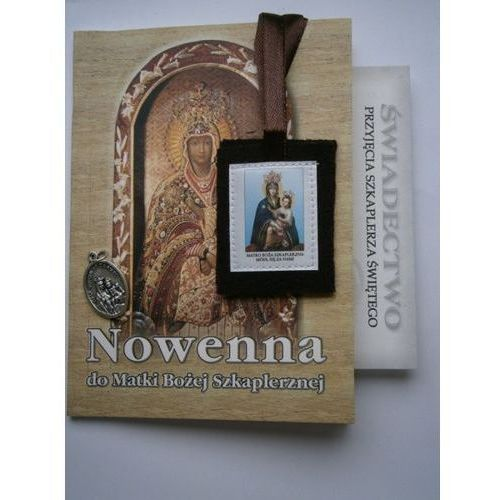 Nowenna do Matki Bożej Szkaplerznej ze Szkaplerzem i medalikiem. Najniższe ceny, najlepsze promocje w sklepach, opinie.