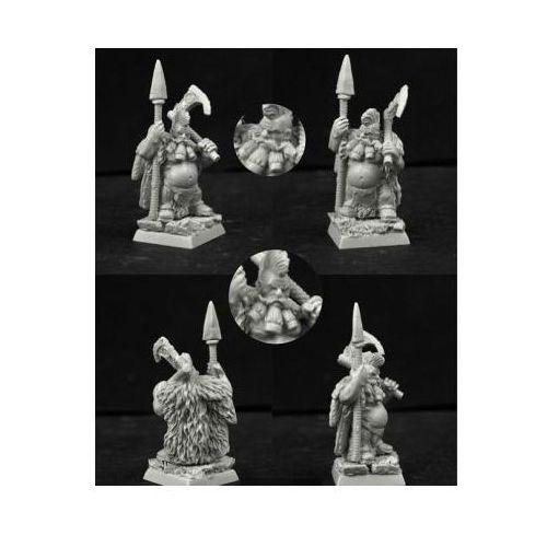 Scibor 28fm0204 - wild warrior dwarf #8 28mm marki Scibor miniatures
