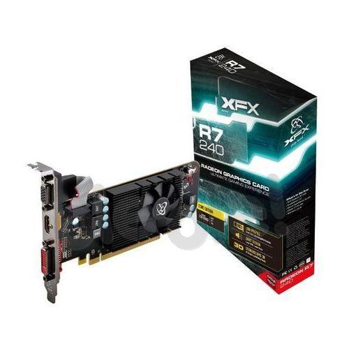 XFX Radeon R7 240 Core Edition 1GB DDR3 128 bit - produkt w magazynie - szybka wysyłka!