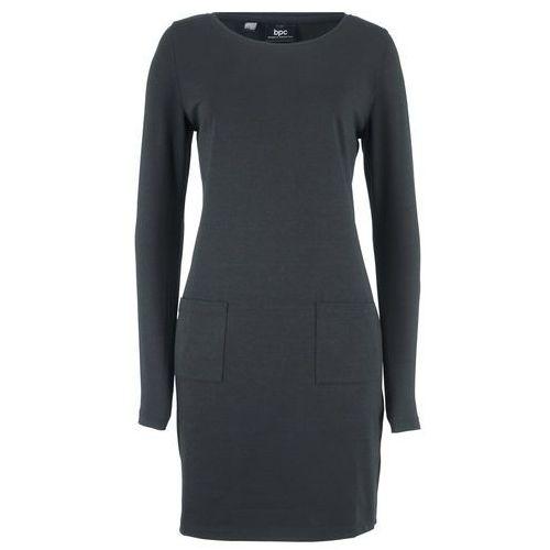 2b17427a496654 Suknie i sukienki Rodzaj: z kieszeniami, Kolor: szary, ceny, opinie ...