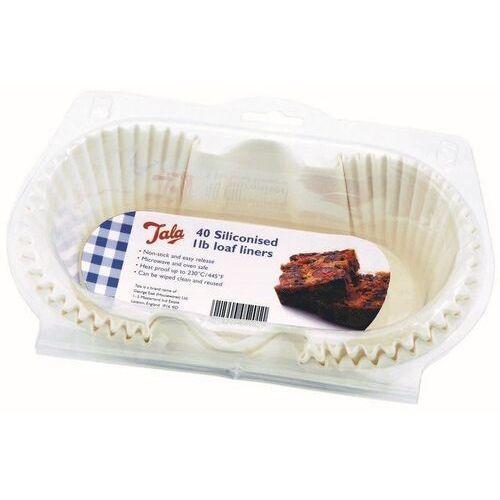 - formy papierowe do pieczenia silikonowane - 40 szt. - małe marki Tala