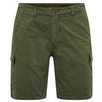 BLEND Spodnie 'Shorts' ciemnozielony, kolor zielony
