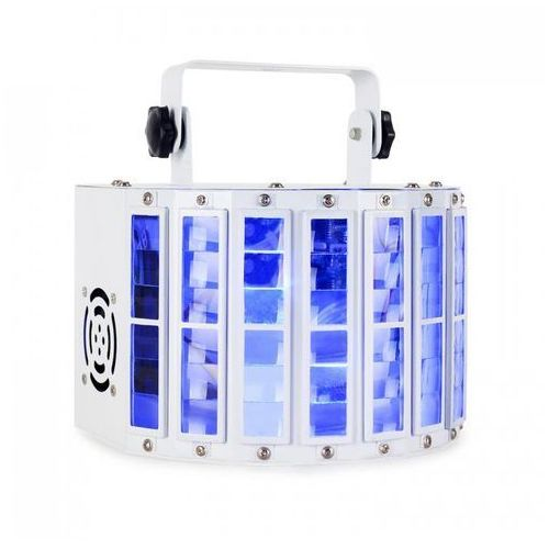 LED-Derby efekt świetlny LED DMX RGBW