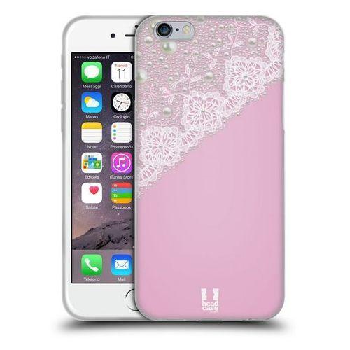 Head case Etui silikonowe na telefon - laces and pearls pink