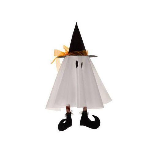 Dekoracja na halloween biały duch - 1 szt. marki Carnival