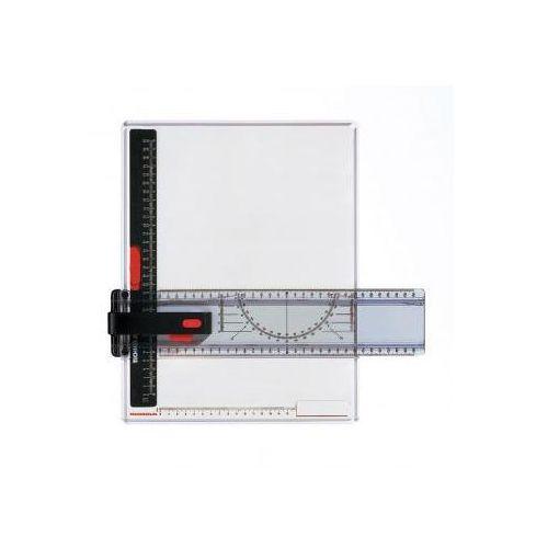 Deska plastikowa z przykładnicą a3 x1 marki Przybory kreślarskie