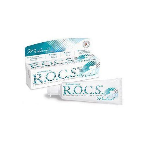 R.o.c.s. medical minerals remineralizujący żel do zębów zapewniający gładkie i białe zęby 35 ml (4607034470609)