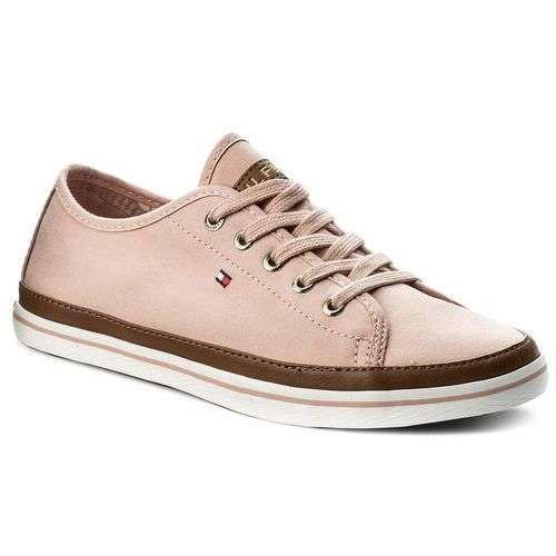 Tenisówki TOMMY HILFIGER - Iconic Kesha Sneaker FW0FW02823 Dusty Rose 502