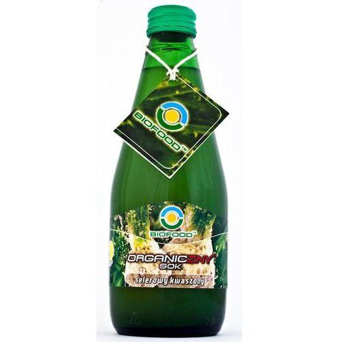 Sok z selerów kwaszonych (kiszonych) 300 ml - ekologiczny Bio Food z kategorii Napoje, wody, soki
