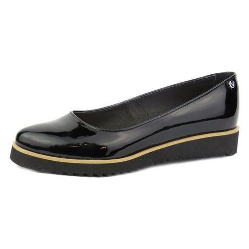 Półbuty damskie Venezia 2435, kolor czarny