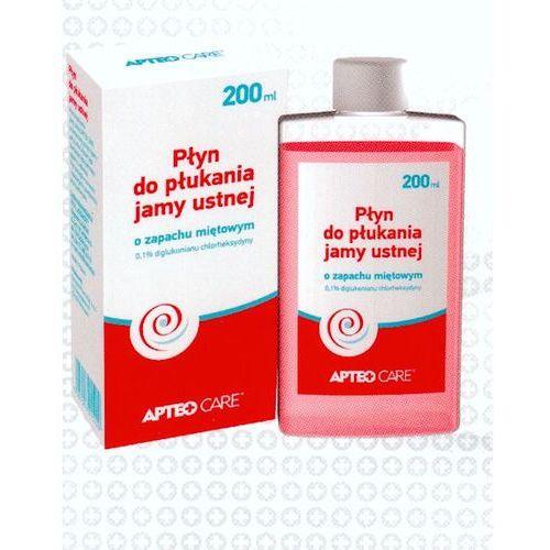 Płyn do płukania jamy ustnej APTEO CARE 200ml - produkt z kategorii- Pozostałe środki dentystyczne