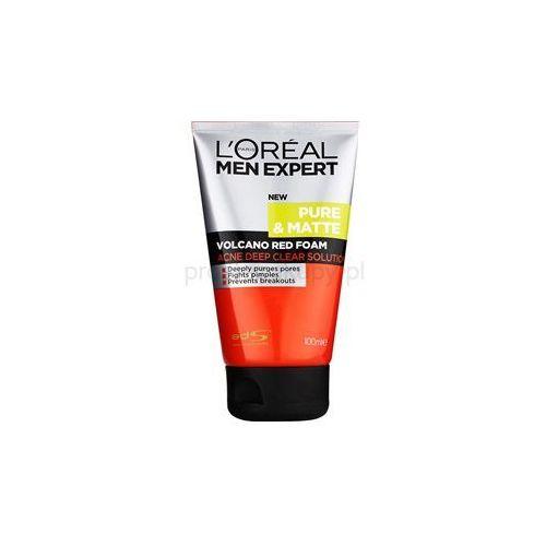 men expert pure & matte pianka dogłębnie oczyszczająca przeciw trądzikowi + do każdego zamówienia upominek. marki L'oréal paris