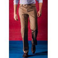 Beżowe męskie spodnie Dream, kolor beżowy