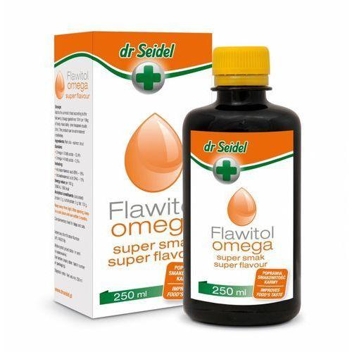 DR SEIDEL Flawitol Omega Super Smak - preparat poprawiający smakowitośc karmy 250ml, 7255