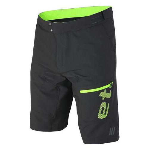 Etape spodenki rowerowe męskie Freeride, czarno-zielony L (8592201043914)