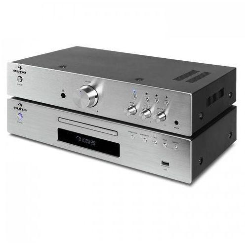 """Auna auna """"Elegance Tower"""" Zestaw HiFi 2.0 odtwarzacz CD 600 W (4260365781020)"""
