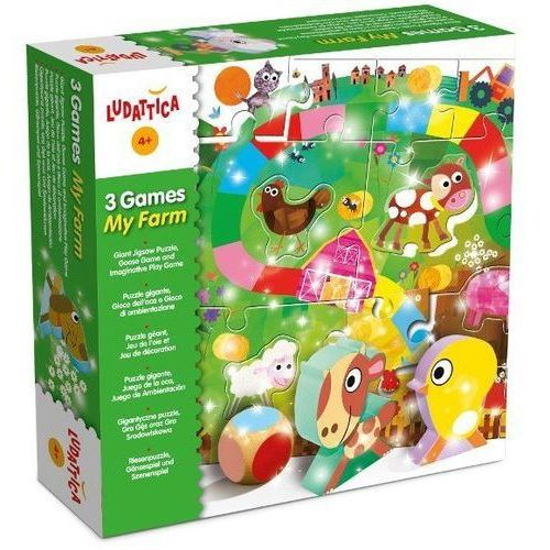 Liscianigiochi 3 gry moja farma (8008324046768)