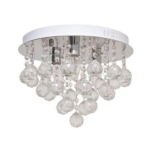 Lampa sufitowa kryształowa CLARION 3xE14/40W/230V