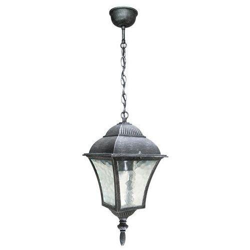 Lampa wisząca zewnętrzna toscana 1x60w e27 ip43 antyczne srebro 8399 marki Rabalux
