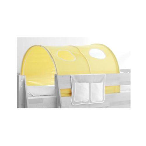 Ticaa kindermöbel Ticaa ticaa tunel do łóżek piętrowych dworek kolor żółto-biały
