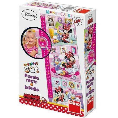 Puzzle 150 z miarką Minnie DINO, AM_8590878422056