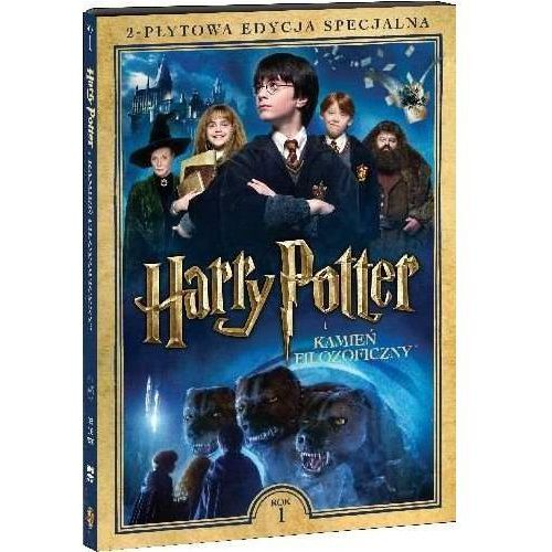 Harry potter i kamień filozoficzny. 2-płytowa edycja specjalna (2dvd) (płyta dvd) marki Galapagos