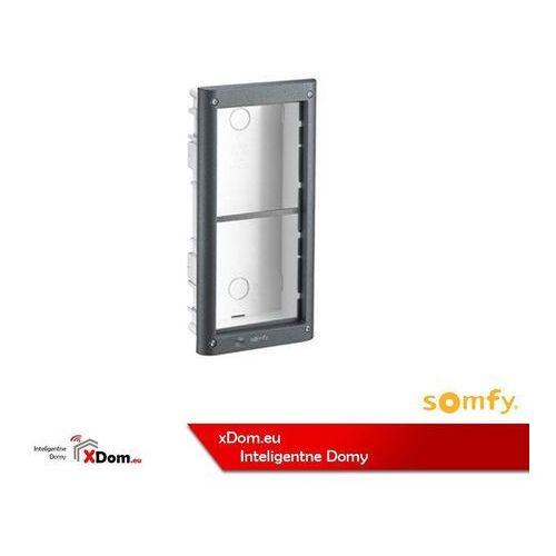 Somfy 9020024 aluminiowa puszka podtynkowa dla 2 modułów