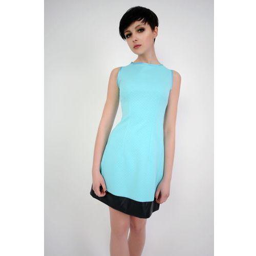 Sukienka emilie turkusowy, Vera fashion