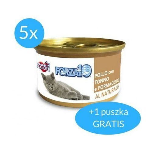 Forza10 Maintenance dla kota 5x75g + 75g GRATIS (450g): smak - kurczak z tuńczykiem i serem DOSTAWA 24h GRATIS od 99zł (8020245202535)