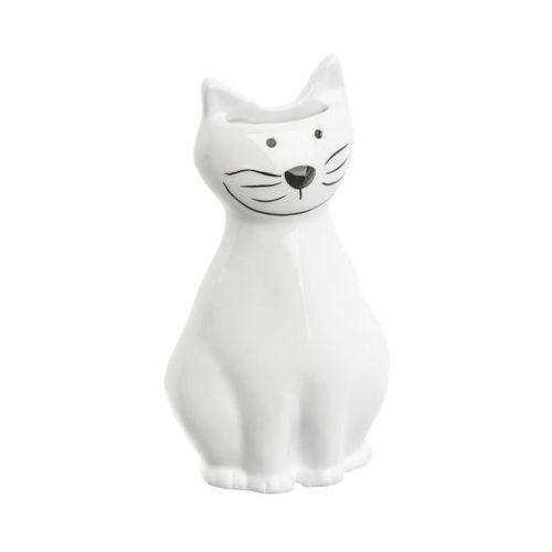 Nawilżacz ceramiczny Kot biały Nr 324