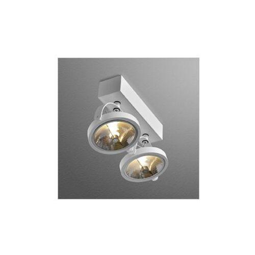 Reflektorek ceres 111x2 r biały szybka realizacja, 15112-0000-t8-ph-03 marki Aqform