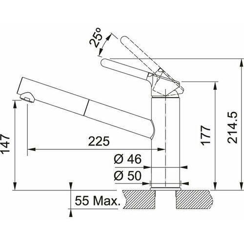 Bateria Franke Orbit 115.0623.141