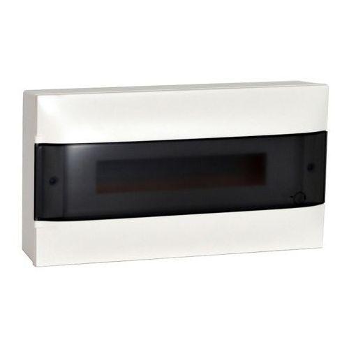 Rozdzielnica naścienna Legrand 1 x 18 modułów drzwi dymne, 137436