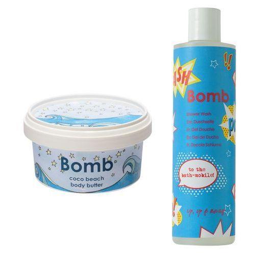 Bomb Cosmetics Zestaw dla Niej: żel pod prysznic 300ml + masło do ciała 210ml (9753197531128)