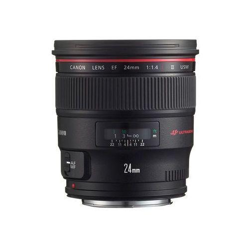 24 mm f/1.4l ii ef usm - cashback 860 zł przy zakupie z aparatem! marki Canon