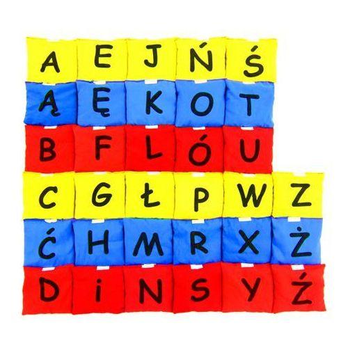 Akson - Woreczki gimnastyczne Alfabet - Zestaw liter w 3 kolorach
