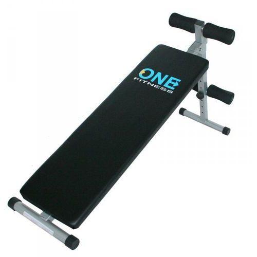 Hms One fitness ławka prosta/skośna do brzuszków (5907695584912)