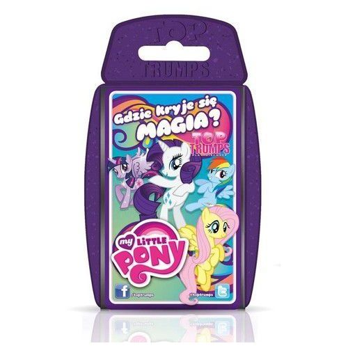 Top Trumps My Little Pony - Jeśli zamówisz do 14:00, wyślemy tego samego dnia. Darmowa dostawa, już od 99,99 zł.. Najniższe ceny, najlepsze promocje w sklepach, opinie.