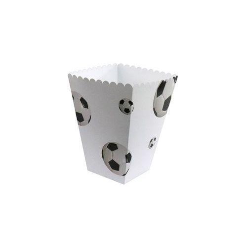 Pudełka na popcorn piłka nożna - 6 szt. marki Congee.pl
