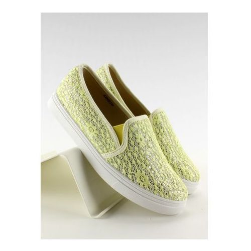 Trampki slip-on model xin07p yellow marki Inello
