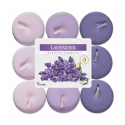 Podgrzewacz zapachowy lavender lawenda 18 szt. marki Bispol