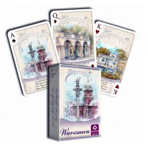 Karty do gry CARTAMUNDI Akwarele Warszawa 55 listków - sprawdź w wybranym sklepie
