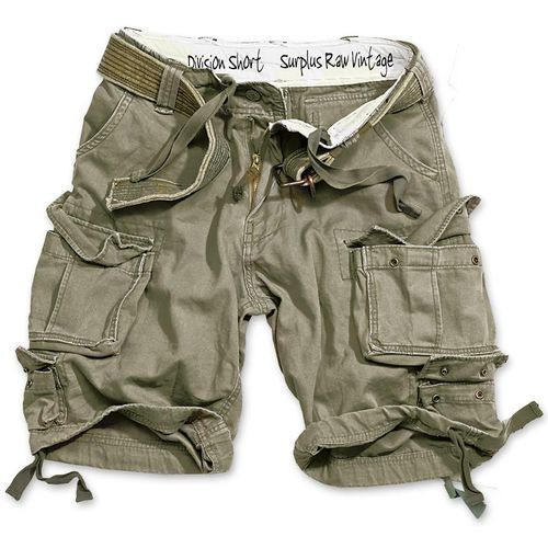 Krótkie spodnie Division short Surplus oliv