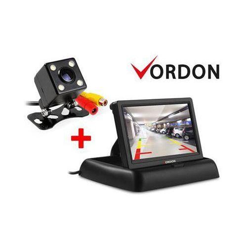 Kamera cofania  4smdpl i monitor kamery cofania vordon cr-43 od producenta Vordon
