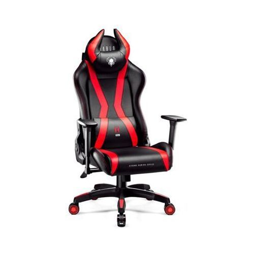 Diablo chairs Fotel x-one horn (l) czarno-czerwony darmowy transport (5902560337006)