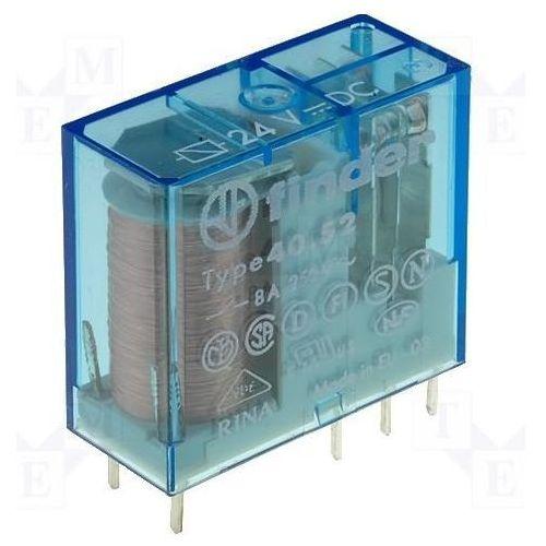 Przekaźnik 2CO 8A 125V DC styki AgNi+Au 40.52.9.125.5000, 40-52-9-125-5000