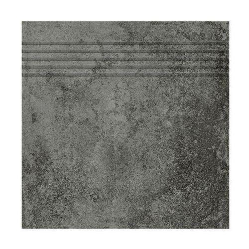 Stopnica corte grafitowy 33 x 33 marki Ceramika gres