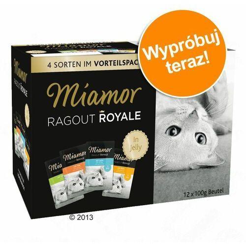 Miamor Pakiet próbny ragout royale, 12 x 100 g - kitten, drób i wołowina w galarecie (4000158740953)