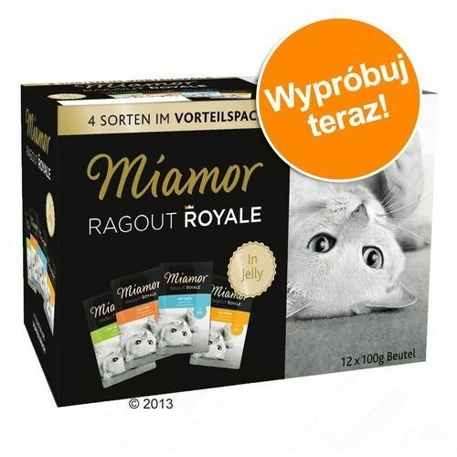 Pakiet próbny Miamor Ragout Royale, 12 x 100 g - Kitten, Drób i wołowina w galarecie (4000158640956)